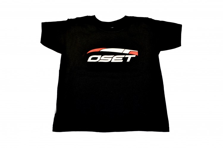 Adult t-shirt with OSET logo - Black