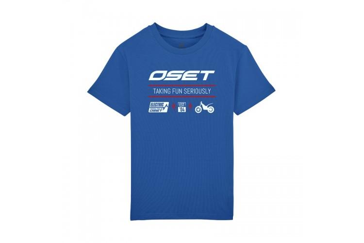 OSET Jitsie Electric range, t-shirt, blue